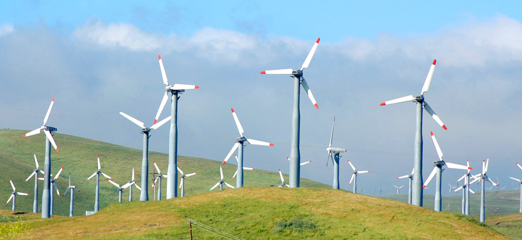 Slide 2 – wind turbines
